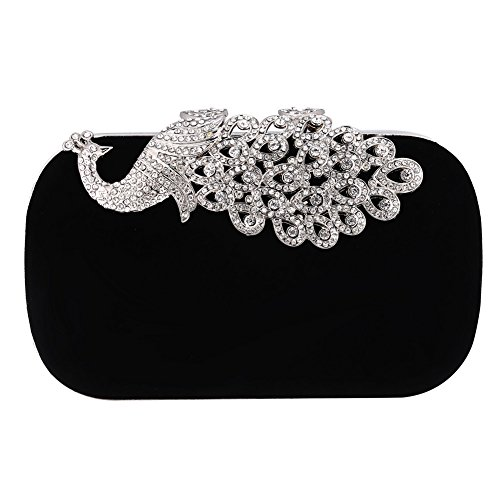 Bolso elegante de ceremonia para mujer con diamantes, bolso de noche, bolso...