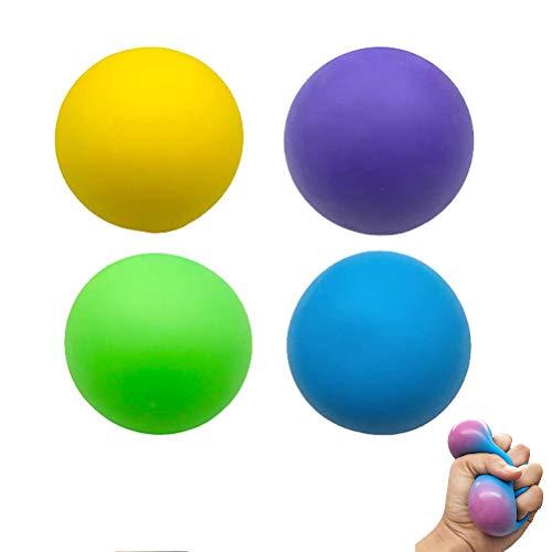 Bolas antiestrés para niños, 4 unidades