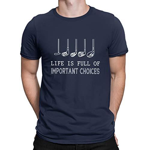 Camiseta unisex divertida de algodón con texto en inglés