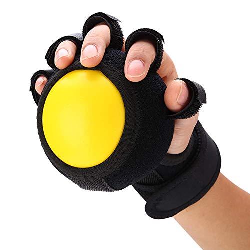 Pelota antiestática, dispositivo de entrenamiento de dedos, pelota de agarre para niños, ortesis de muñeca y dedo, ejercicio de rehabilitación, reducir el estrés y ejercitar la mano