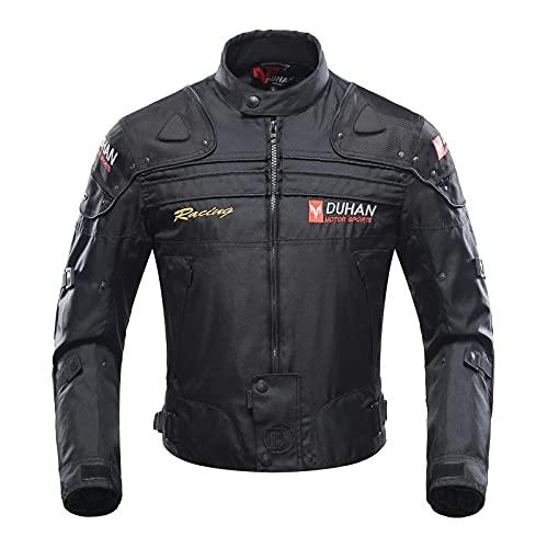 Giacca Motocicletta, giubbotto moto uomo estiva 5 Armatura protettiva per uomo Donna, protezioni abbigliamento moto