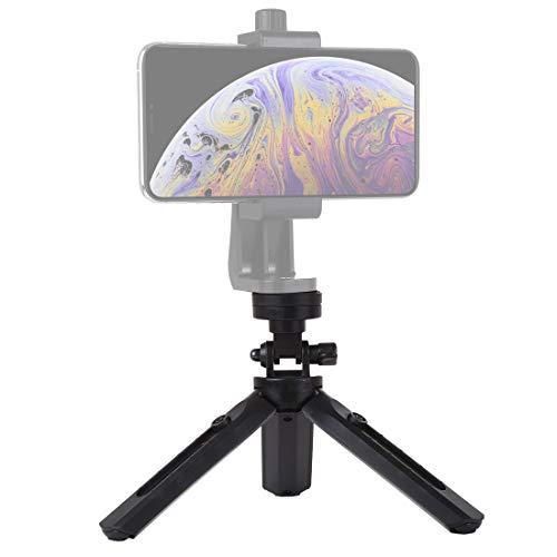 Tripé Ajustável com Parafuso de 1/4 Polegada, Compátivel com Celulares/DJI OSMO Mobile 2/Feiyu Gimbal/Gopro/DSLR Câmera