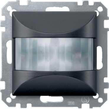 Schneider ELEC RLS–CCO 6500–Rauchmelder Bewegung Einbau 180/Elegance anthrazit