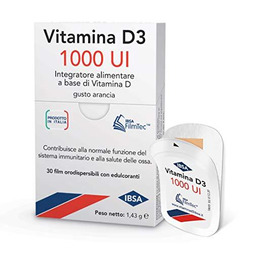 Vitamina D3 IBSA 1000 UI - 30 Film Orodispersibili