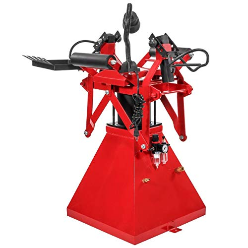 XtremepowerUS Air Operated Tire Changer Spreader Tire Repair Machine Wheel Patching Plug Tool