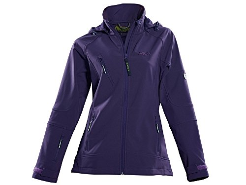 Owney Matu Hood Softshell Jacke lila -XXL-