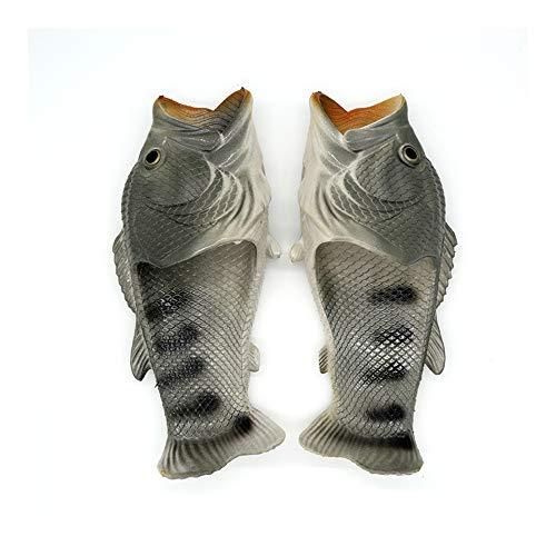 élégant Pantoufles de Poissons d'animaux Chaussures de Plage créatives Douces, Tongs, Chaussures décontractées, Pantoufles, Chaussures de Douche et Sandales pour Hommes, Femmes et Enfants