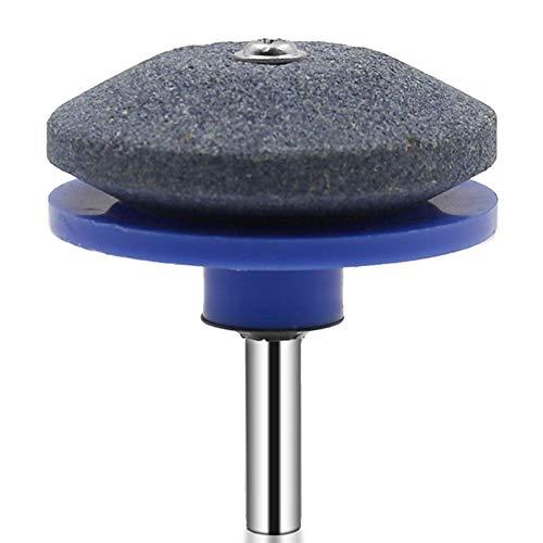 HshDUti Bohrmaschine Messerschärfer Rasenmäher Schleifmaschine Rasentrimmer Blatt Schärfwerkzeug Blau