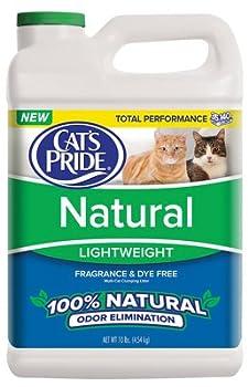 Cat s Pride C01310-C60 Cat Litter Natural Clay 10-Lb Jug - Quantity 2