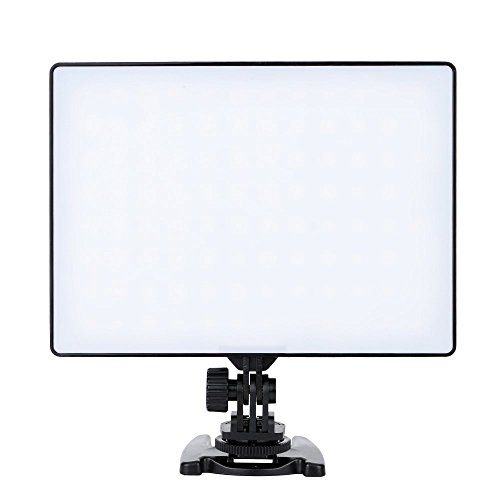Vídeo LED lámpara luz de vídeo 300led 3200k-5500k 1100lux para Sony np-f750