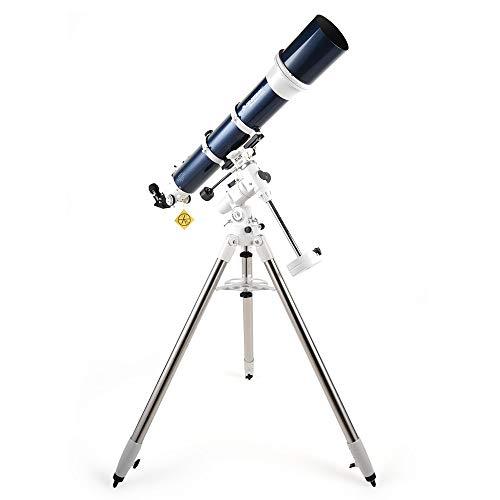 ZXF Alto profundo HD espaciales de observación de la estrella Trang Omni XLT 120 telescopio astronómico Refracción 1000 Longitud focal Pantalla de temperatura segura y precisa