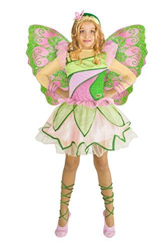 Ciao 11199 - Flora Butterflix Costume Winx 7-9 anni