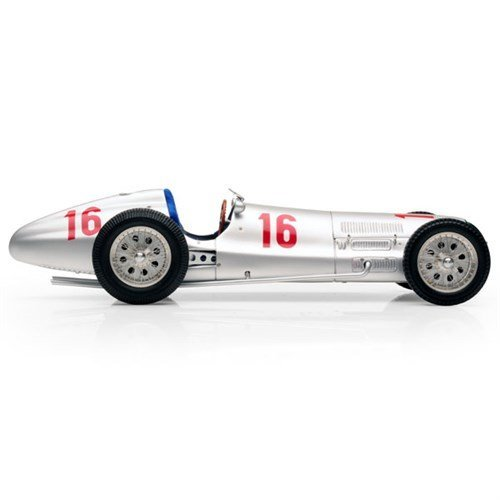 CMC-Classic Model Cars Mercedes-Benz W154 Seaman 16 1938 Limited Edition 1:18 Scale Detailed Assembled Collectible Historic Antique Vehicle Replica
