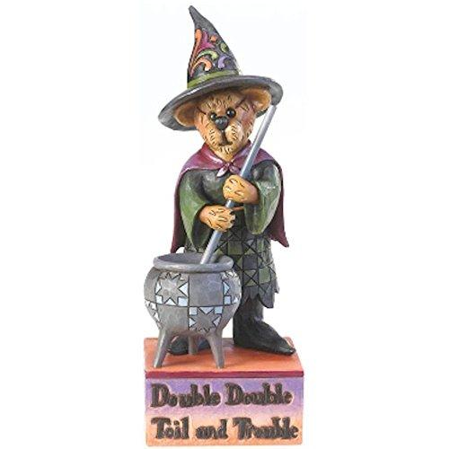 Figura decorativa de bruja.