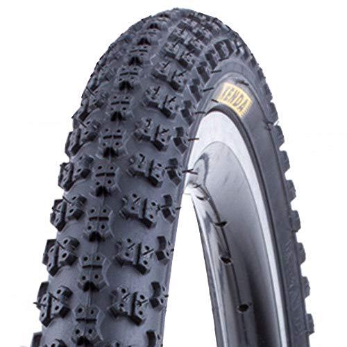 KENDA K-50 Fahrrad Reifen // 57-355 (18×2,125´´), Ausführung:Schwarz, Drahtreifen