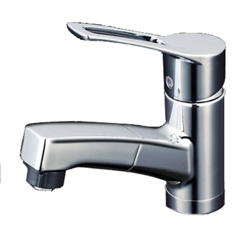 洗面用シングルレバー式シャワー付混合栓 KM8001TF