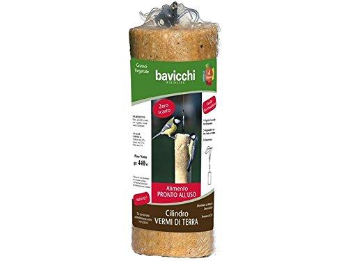 Cylindre avec vers de terre 440 g à suspendre.