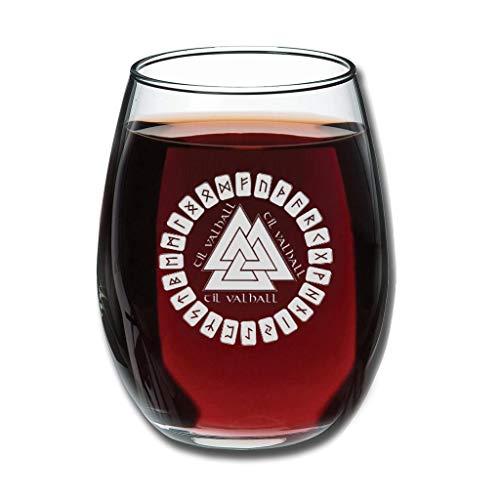 Bohohobo Libbey Weinglas ohne Stiel, 350 ml, Weinglas für Rot- und Weißwein, spülmaschinenfest, herzwärmender Geschenk für lustiges Weiß, 350 ml