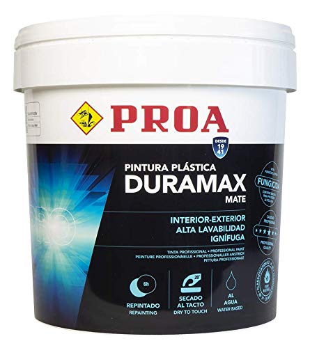 PLÁSTICA INTERIOR/EXTERIOR MATE ANTIMOHO DURAMAX. 24,5kg.