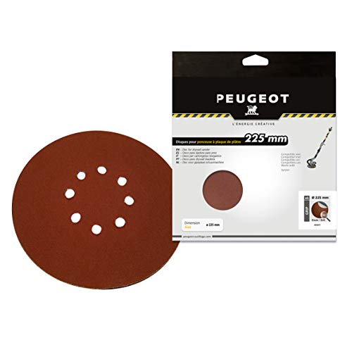 6 discos abrasivos auto-agarantes 8 agujeros, medio A240 para ENERGYSand-225