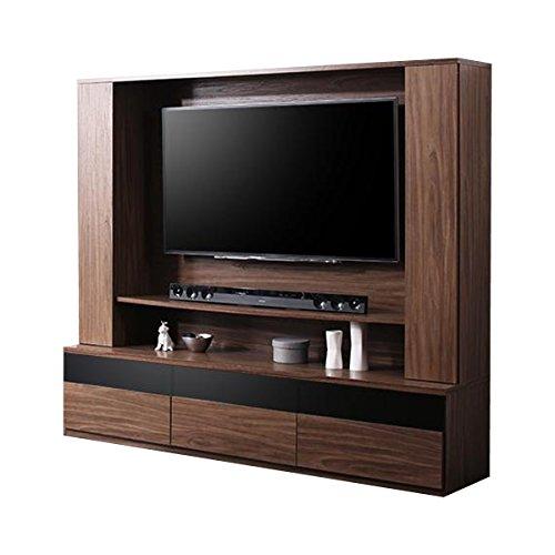 家具350ウォルナットブラウン/【Dewey】テレビボード壁掛けハイタイプデューイ