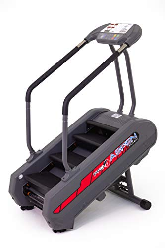 Aspen Stair Climber The Ultimate Uphill Workout Exercise Fitness Weight Loss Equipment - A Mountain of a Workout, Without Requiring a Mountain of Space