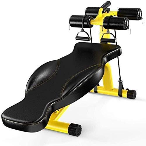 PARTAS Krafttraining-Multifunktions Sit Up Bench Gewicht Bank Einstellbare Hantel Bank Bauch-Übung Verstellbare Hantelbänke Home Gym Faltbare Fitnessgeräte Tragfähigkeits 300kg
