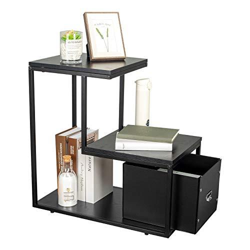 YU YUSING Mesa auxiliar, mesa de café, mesita de noche, mesa para ordenador portátil