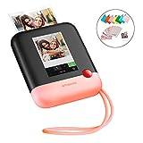 Polaroid POP 2.0  Fotocamera digitale a stampa istantanea, con display touchscreen da 3,97', Wi-Fi integrato, video HD da 1080p, tecnologia zero inchiostro Zink e nuova app, rosa