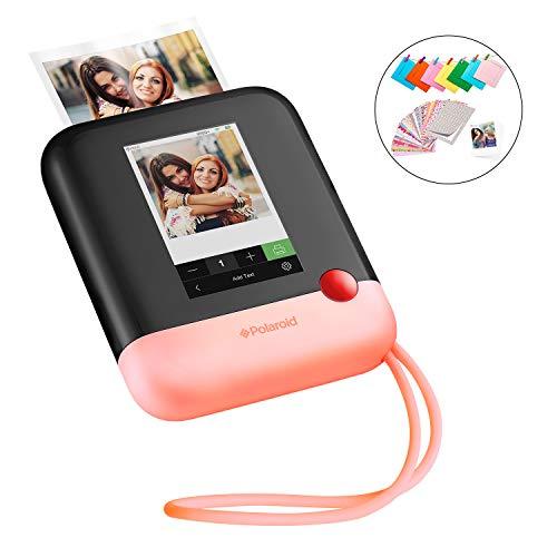 Polaroid POP 2.0 20MP Digital Sofortbildkamera mit 3,97 Touchscreen-Display, Zink Zero Ink-Technologie druckt 3,5 x 4,25 Fotos, Rosa