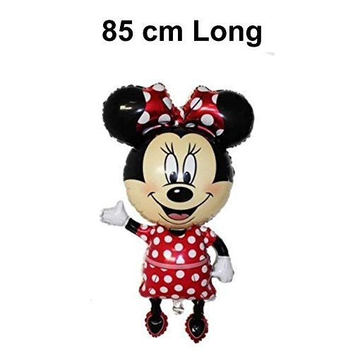 Vintage Hoed Winkel MINNIE MOUSE GIANT BALLOON AIRWALKER 44 door 24 inch 3.6 Voet High! KINDEREN BIRTHDAY PARTY
