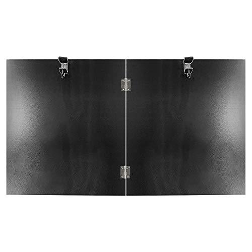 Terrassenstrahler Reflektorschild Außenstrahler für Propan und Erdgas