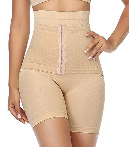 MISS MOLY Donna Guaina Contenitiva a Vita Alta Corsetto Dimagrante Mutande Snellente Intimo Modellante Pantaloncino Push up Glutei Elastica Slim Shapewear Shaping Body Shaper Shorts