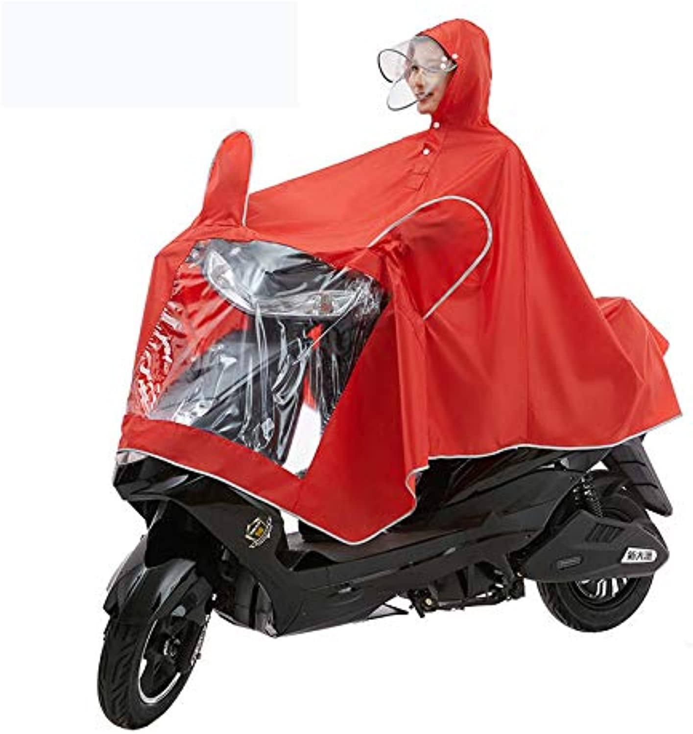 Multifunctional Light Raincoat Rain Cover Poncho with Hat Walking Riding Electric Motorcycle Outdoor Camping Tent Mat