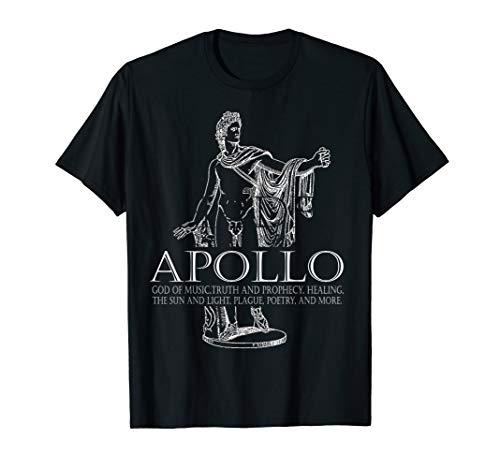 Apollo God Of Music And Sun Greek Mythology T-Shirt