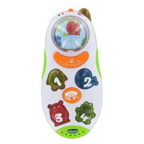 CHICCO–00071408000030–Juego de reloj–Globe Trotter zweisp rachige Teléfono