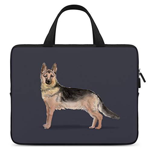 Universal Laptop Computer Tablet,Case,Cover for Apple/MacBook/HP/Acer/Asus/Dell/Lenovo/Samsung,Laptop Sleeve,Color for Dog German Shepherd Dog Carnivore,13inch