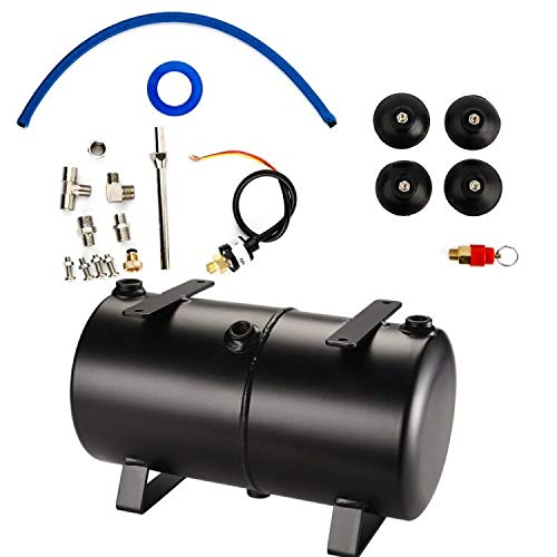 OPHIR 3L Air Tank Kit with Adapters Tube for DIY Air Compressor Modification Airbrush Compressor Kit Hobby Model