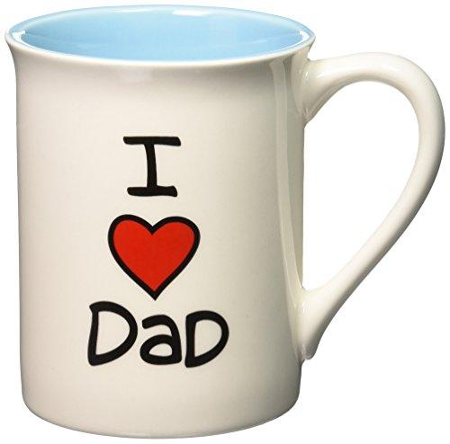 """""""I Heart Dad"""" Stoneware Mug, 16 oz."""