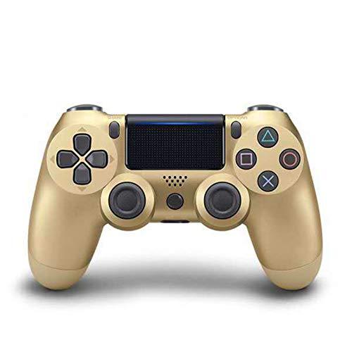 XIKONG Game-Controller, kabellos, für PS4-Controller, Bluetooth Gamepad Joystick Dual Shock/Gyroskop Playstation 4/Slim/Pro und PS3 Gold