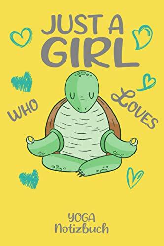 Notizbuch mit Schildkröte beim Joga um Aufgaben und Ideen festzuhalten: Notebook für den Turtle Fans: Gepunktet Notizblock 120 Seiten ca. A5 Format; Dotgrid 6x9
