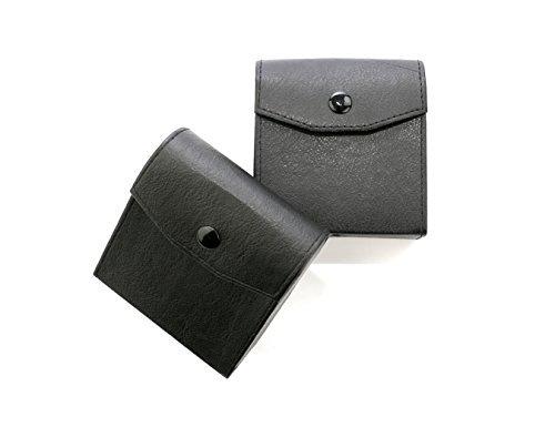 3-Pocket Leather Lens Filter Case filter pouch Filter Carry Case Bag 2 PCS