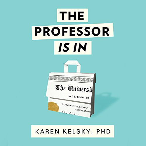 The Professor Is In audiobook cover art