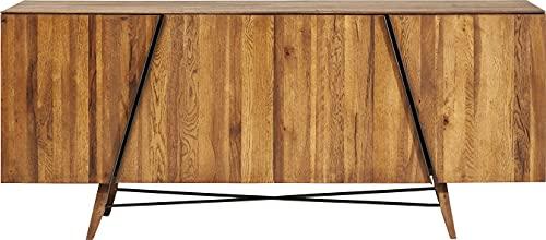 Kare Design Sideboard aus Eiche, Massivholz, geölt, mit Einlegeböden