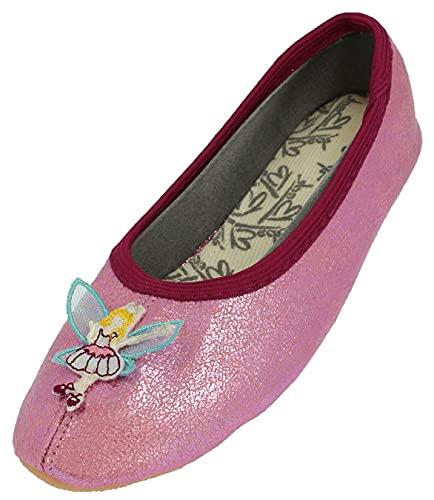 Beck Fee dziewczęce buty gimnastyczne, różowy - Pink Pink 06-27 EU
