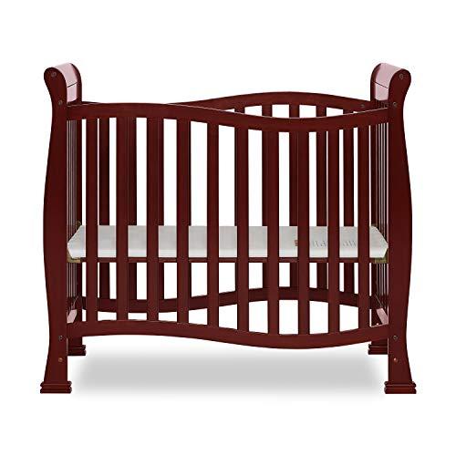 Dream On Me Violet Mini Crib, Cherry
