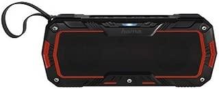 Hama Rockman-L Mobile Bluetooth Speaker for Multi - Black/Red, ROCKMAN L