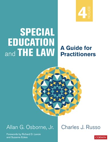 Compare Textbook Prices for Special Education and the Law: A Guide for Practitioners Fourth Edition ISBN 9781071818954 by Osborne, Allan G.,Russo, Charles