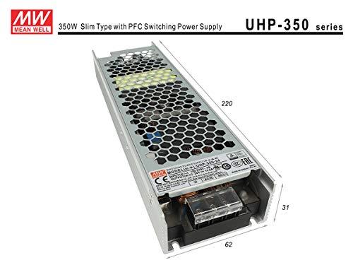 LEDLUX MW73503 netvoeding MeanWell CV 12V 350W 29,2A zonder ventilator UHP-350-12 transformator AC 220V A DC 12V voor LED-lampen interieur