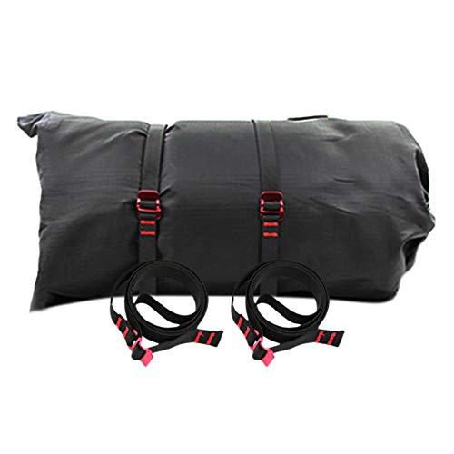 Exuberanter Gepäckgurt Einstellbare Kofferband Gurt, Mit Aufbewahrungstasche, Gepäckgurte Koffergurte Für Campingreisen Fahrrad Motorrad, 150CM